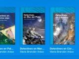 """Firmo mis libros de """"Detectives"""" y otros, Jueves 24 de julio, 15 hs, stand Santillana de la Feria del Libro Infantil y Juvenil, en El Dorrego. Los esperochicos!"""