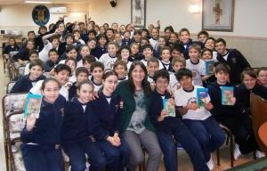 Un encuentro exitoso con los chicos de 6to, lectores de Detectives en Bariloche. ¡Gracias por participar con tanto entusiasmo!