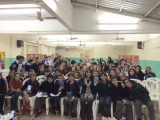 Visia al Inst. Giovanni Pascoli, en José C. Paz, con todos los6tos!!!